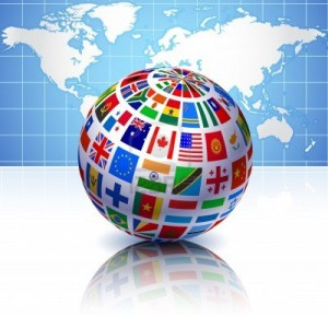 6441760-flags-globe-with-world-map-original-vector-illustration